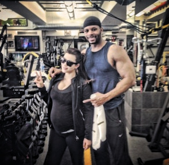Alledged Gay NFL Player Kerry Rhodes Claims He May Have Fathered Kim Kardashian's Baby