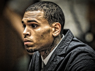 CHRIS BROWN PLEADS NOT GUILTY IN L.A. HIT & RUN CASE