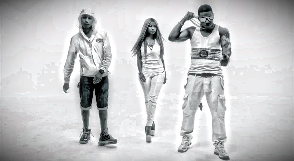New Video: Nelly ft. Nicki Minaj and Pharrell 'Get Like Me'