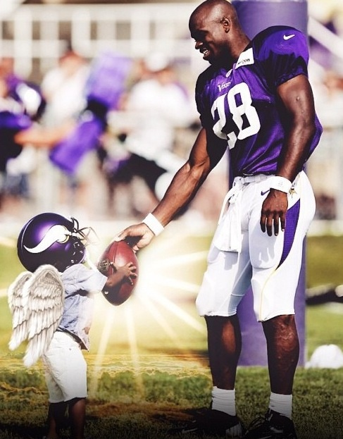 Minnesota Vikings Running Back Adrian Peterson's Son Has Been Pronounced Dead..