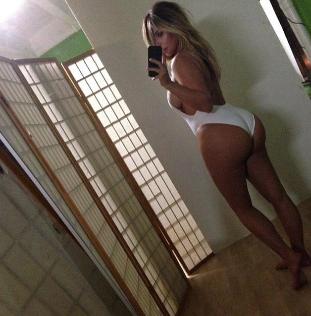 Kim Kardashian Shows Off Post Baby Body