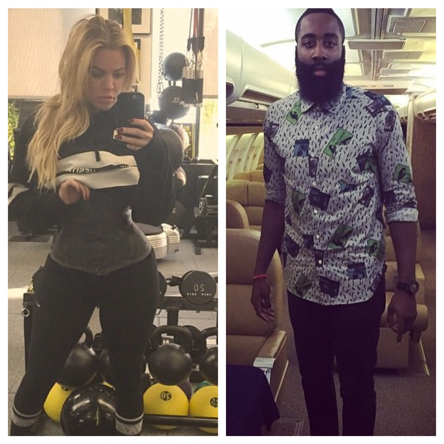james harden and khloe kardashian relationship history